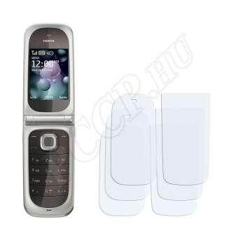 Nokia 7020 kijelzővédő fólia