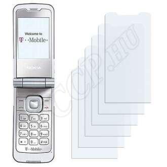 Nokia 7510 Supernova kijelzővédő fólia