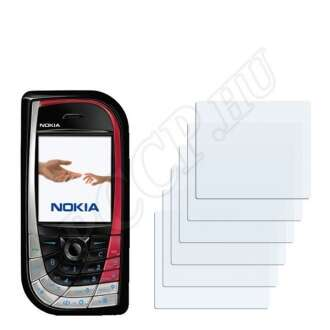 Nokia 7610 kijelzővédő fólia