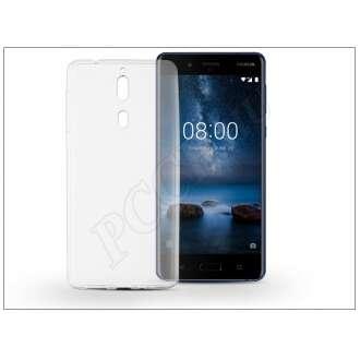 Nokia 8 átlátszó szilikon hátlap