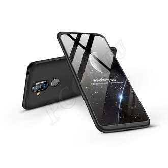 Nokia 8.1 fekete három részből álló védőtok