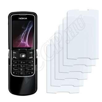 Nokia 8600 Luna kijelzővédő fólia
