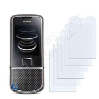 Nokia 8800 Carbon Arte kijelzővédő fólia