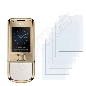 Nokia 8800 Gold Arte kijelzővédő fólia