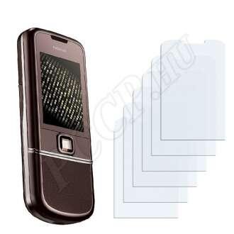 Nokia 8800 Sapphire Arte kijelzővédő fólia