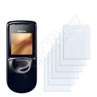 Nokia 8800 Sirocco kijelzővédő fólia
