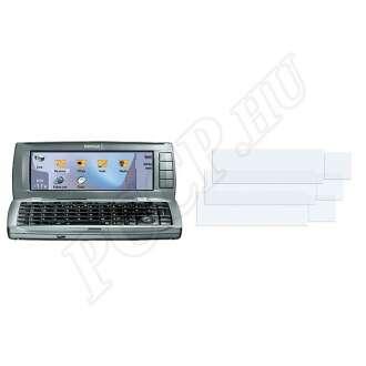 Nokia 9500 kijelzővédő fólia