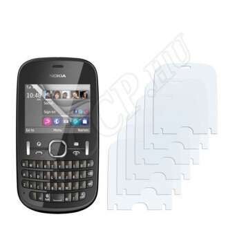 Nokia Asha 201 kijelzővédő fólia