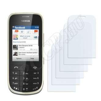 Nokia Asha 202 kijelzővédő fólia