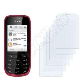 Nokia Asha 203 kijelzővédő fólia