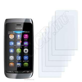 Nokia Asha 309 kijelzővédő fólia