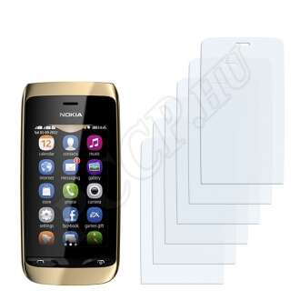 Nokia Asha 310 kijelzővédő fólia