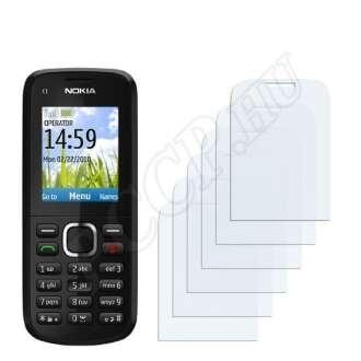 Nokia C1-02 (2010) kijelzővédő fólia