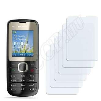 Nokia C2-00 kijelzővédő fólia