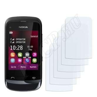 Nokia C2-02 Touch and Type kijelzővédő fólia