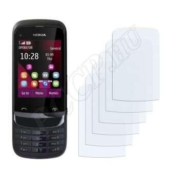 Nokia C2-03 Touch and Type kijelzővédő fólia