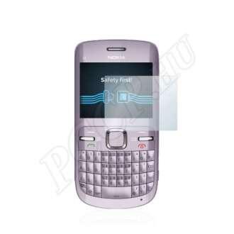 Nokia C3-00 kijelzővédő fólia