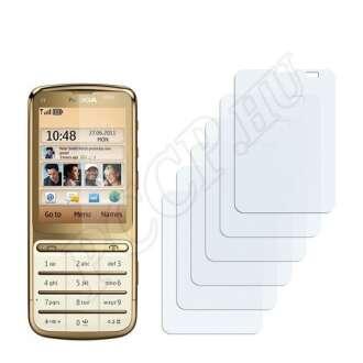 Nokia C3-01 Gold Edition kijelzővédő fólia