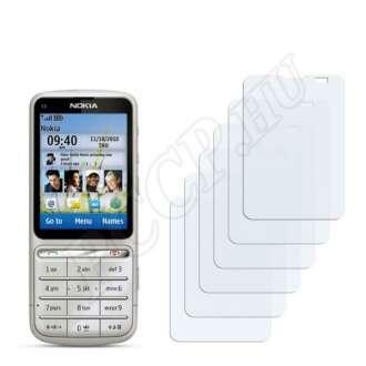 Nokia C3-01 Touch and Type kijelzővédő fólia