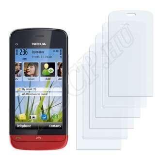 Nokia C5-06 kijelzővédő fólia