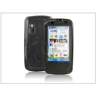 Nokia C6 átlátszó szilikon hátlap