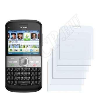 Nokia E5 kijelzővédő fólia