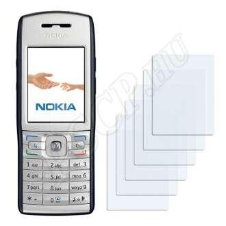 Nokia E50 kijelzővédő fólia