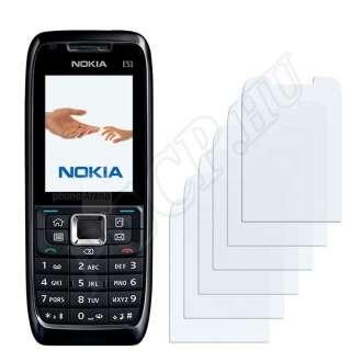 Nokia E51 kijelzővédő fólia