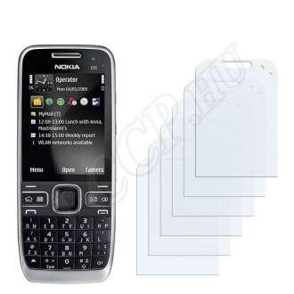 Nokia E55 kijelzővédő fólia