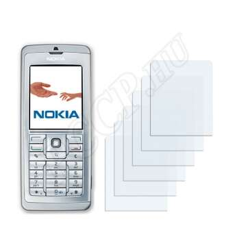 Nokia E60 kijelzővédő fólia