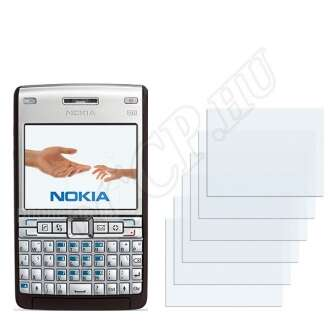 Nokia E61i kijelzővédő fólia