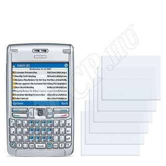 Nokia E62 kijelzővédő fólia
