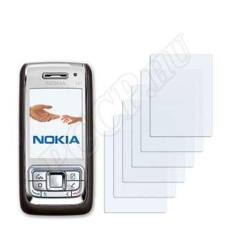 Nokia E65 kijelzővédő fólia