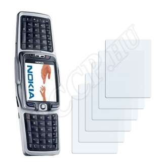 Nokia E70 kijelzővédő fólia
