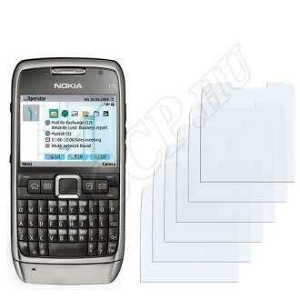 Nokia E71 kijelzővédő fólia