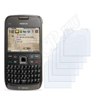 Nokia E73 kijelzővédő fólia