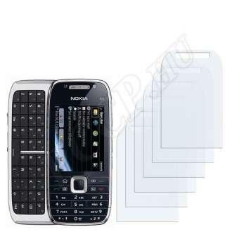 Nokia E75 kijelzővédő fólia