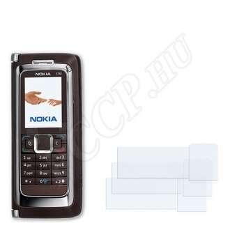 Nokia E90 kijelzővédő fólia