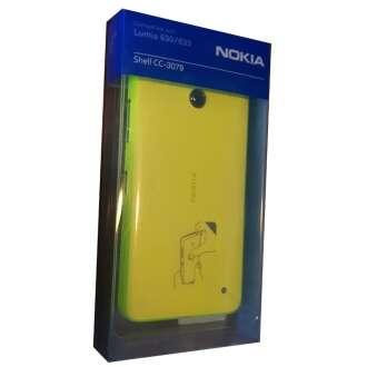 Nokia Lumia 630 sárga kemény hátlap