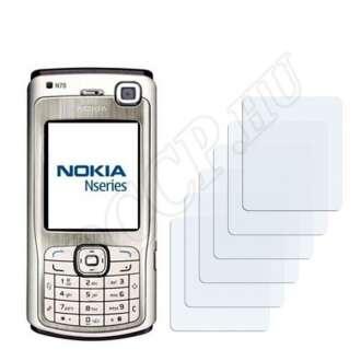 Nokia n70 kijelzővédő fólia