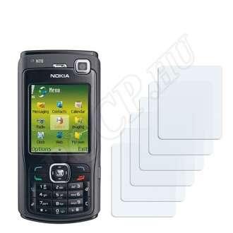 Nokia n70 Music Edition kijelzővédő fólia