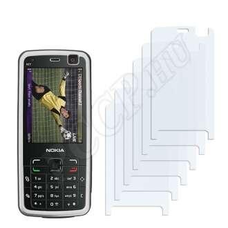 Nokia n77 kijelzővédő fólia