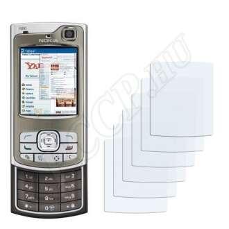 Nokia n80 kijelzővédő fólia