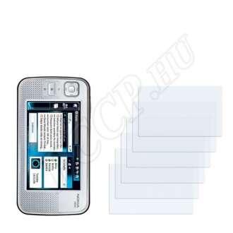 Nokia n800 kijelzővédő fólia