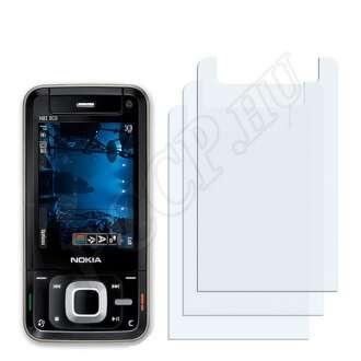 Nokia n81 8GB kijelzővédő fólia