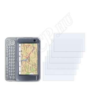 Nokia n810 kijelzővédő fólia