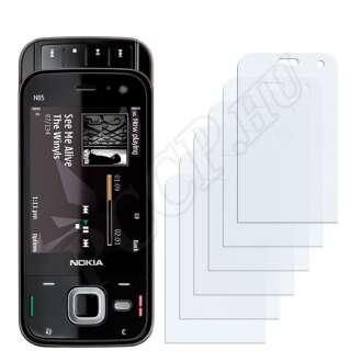 Nokia n85 kijelzővédő fólia
