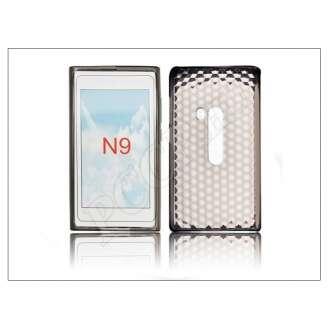 Nokia N9 átlátszó szilikon hátlap
