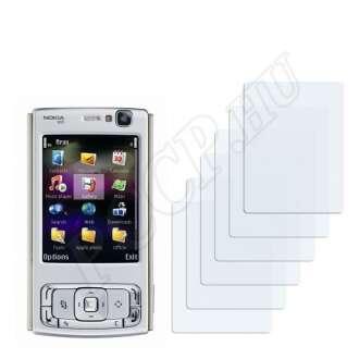 Nokia n95 8GB kijelzővédő fólia