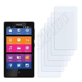 Nokia X+ kijelzővédő fólia